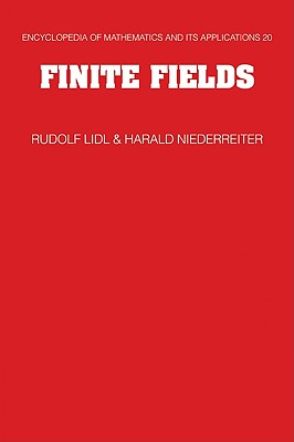 Finite Fields - LIDL, Rudolf, and Niederreiter, Harald