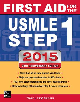 First Aid for the USMLE Step 1 2015 - Le, Tao, and Bhushan, Vikas