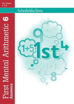 First Mental Arithmetic Answer Book 6 - Montague-Smith, Ann