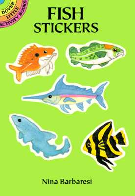 Fish Stickers - Barbaresi, Nina, and Stickers, and Sea Life