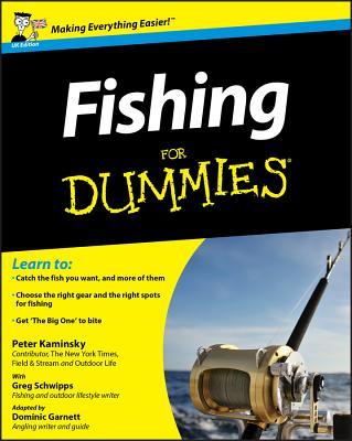 Fishing For Dummies - Kaminsky, Peter, and Schwipps, Greg, and Garnett, Dominic