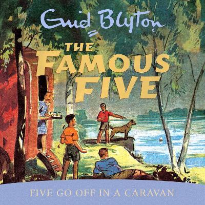 Five Go Off in a Caravan - Blyton, Enid