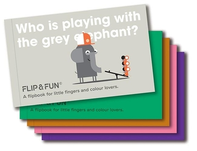 FLIP&FUN: Animal Boxset: A flipbook for little fingers and colour lovers - Viction, Viction