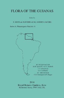 Flora of the Guianas Series a: Meliaceae - Mota De Oliveira, Sylvia (Editor)