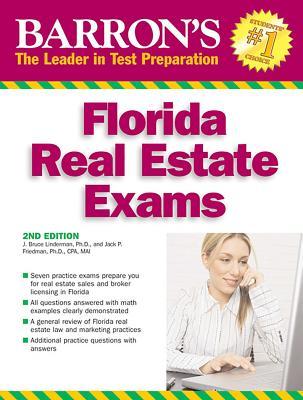 Florida Real Estate Exams - Lindeman, J. Bruce, and Friedman, Jack P.