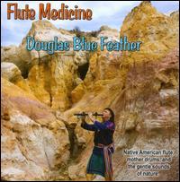 Flute Medicine - Douglas Blue Feather