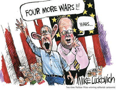 Four More Wars! - Luckovich, Mike