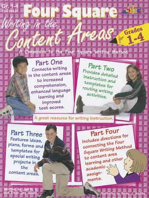 Four Square: Writing in the Content Areas for Grades 1-4 - Gould, Judith S, and Gould, Evan Jay
