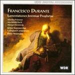 Francesco Durante: Lamentationes Jeremiae Prophetae