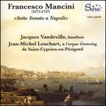 Francesco Mancini: Sette Sonate a Napoli