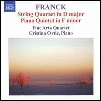 Franck: String Quartet; Piano Quintet - Cristina Ortiz (piano); Fine Arts Quartet