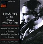 Franco Gulli plays Paganini