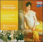 Franz Alexander Pössinger: Trio Concertante Op. 36 Nos. 1-2; Serenata Op. 10