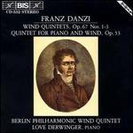 Franz Danzi: Wind Quintets, Vol. 1