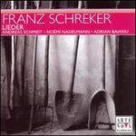 Franz Schreker: Lieder