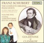 Franz Schubert: The Complete Original Piano Duets, Vol. 4