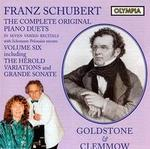 Franz Schubert: The Complete Original Piano Duets, Vol. 6