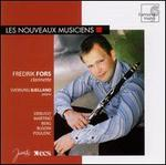 Fredrik Fors Plays Debussy, Martinu, Berg, Busoni, Poulenc