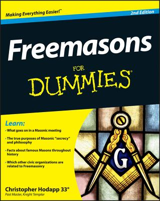 Freemasons for Dummies - Hodapp, Christopher