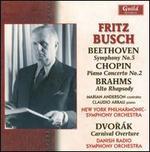 Fritz Busch conducts Beethoven, Chopin, Brahms & Dvorák