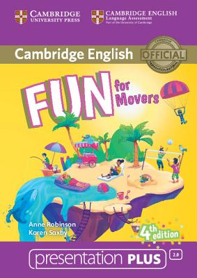 Fun for Movers Presentation Plus DVD-ROM - Robinson, Anne, and Saxby, Karen