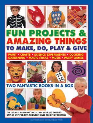Fun Projects and Amazing Things to Make, Do, Play and Give - Walton, Sally, and Maxwell, Sarah, and Painter, Lucy