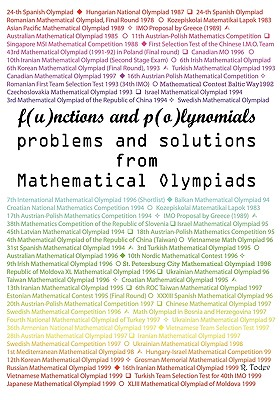 Functions and Polynomials Problems and Solutions from Mathematical Olympiads - Todev, R