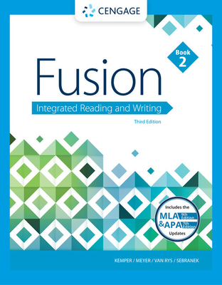 Fusion: Integrated Reading and Writing, Book 2 - Kemper, Dave, and Meyer, Verne, and Van Rys, John