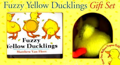 Fuzzy Yellow Ducklings Gift Set - Van Fleet, Matthew