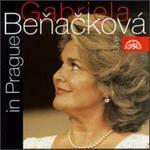 Gabriela Benacková-Cápová in Prague