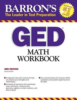 GED Math Workbook - Holm, Johanna