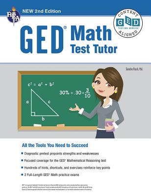 Ged(r) Math Test Tutor, for the 2021 Ged(r) Test, 2nd Edition - Rush, Sandra, Ms.