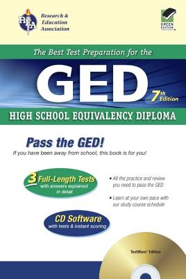 GED(R) W/ CD-ROM, 7th Ed. - Cameron, S, and Emmons, J G, and Friedman, Mel