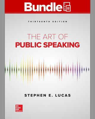 Gen Combo Looseleaf the Art of Public Speaking; Connect Access Card - Lucas, Stephen E