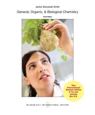General, Organic, & Biological Chemistry - Smith, Janice