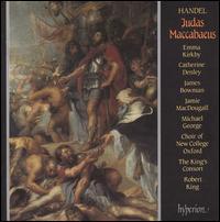 Georg Friedrich Handel: Judas Maccabaeus - Catherine Denley (mezzo-soprano); Emma Kirkby (soprano); James Bowman (counter tenor); Jamie MacDougall (tenor);...