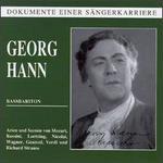 Georg Hann: Bassbariton