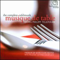 Georg Philipp Telemann: Musique de Table - Ann-Kathrin Brüggemann (oboe); Anne-Katharina Schreiber (violin); Beatrix Hulsemann (violin); Christa Kittel (violin);...