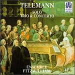 Georg Philipp Telemann: Solo, Trio & Concerto