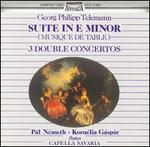 Georg Philipp Telemann: Suite in E minor; 3 Double Concertos