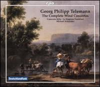 Georg Philipp Telemann: The Complete Wind Concertos - Andreas Gerhardus (viola); Annette Schneider (cello); Annette Wehnert (violin); Camerata Köln; Christian Zincke (violone);...