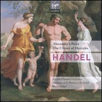 George Frideric Handel: Alexander's Feast; The Choice of Hercules - Heather Harper (soprano); Helen Donath (soprano); Helen Watts (mezzo-soprano); James Bowman (counter tenor);...