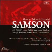 George Frideric Handel: Samson - James Pease (vocals); Joan Carlyle (vocals); Joan Sutherland (vocals); Jon Vickers (vocals); Joseph Rouleau (vocals);...