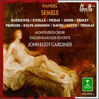 George Frideric Handel: Semele - Anthony Rolfe Johnson (tenor); Catherine Denley (contralto); David Thomas (bass); Della Jones (vocals);...