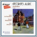 Georges Auric: Mélodies
