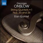 Georges Onslow: String Quintets, Vol. 1 - Nos. 20 and 26