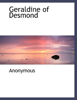 Geraldine of Desmond - Anonymous
