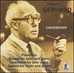 Gerhard: Piano Trio / Cello Sta / Chaconne / Gemini