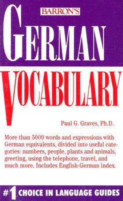 German Vocabulary - Graves, Paul G