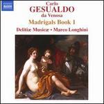 Gesualdo: Madrigals, Book 1